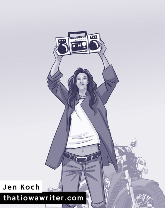 Say Anything by Jen Koch
