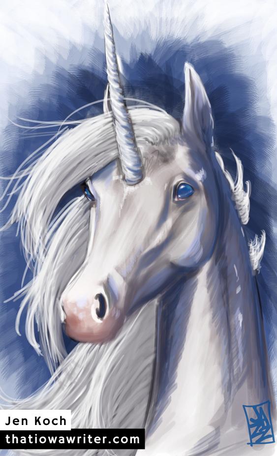 Unicorn by Jen Koch, Digital, 2008